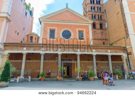 Church Of St Lawrence At Lucina In Rome