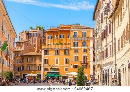 Piazza San Lorenzo In Rome