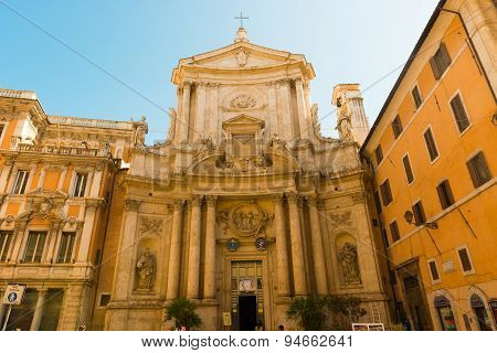 Church Of San Marcello Al Corso In Rome