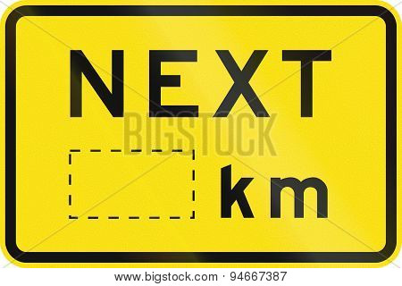 Next Kilometers In Australia
