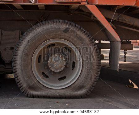 Flat Tires.