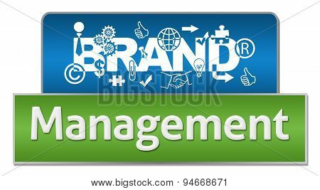 Brand Management Blue Green Blocks