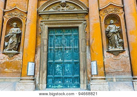 Church Of The Most Holy Trinity Of Pilgrims In Rome
