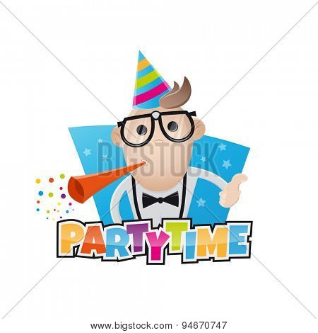 funny party man