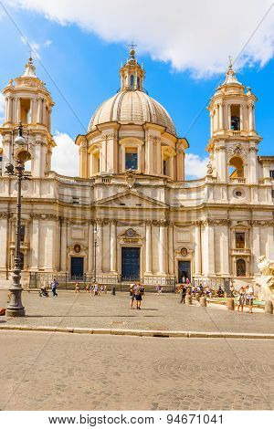 Church Of Sant Agnese In Agone, Rome Italy