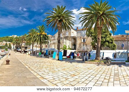 Island Of Hvar Palm Waterfront