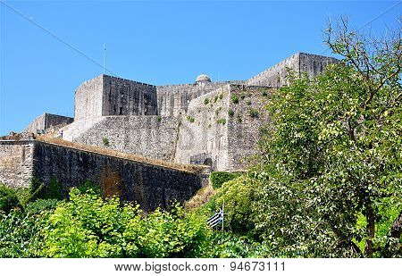 old fortress town of Corfu, Greece, Europe