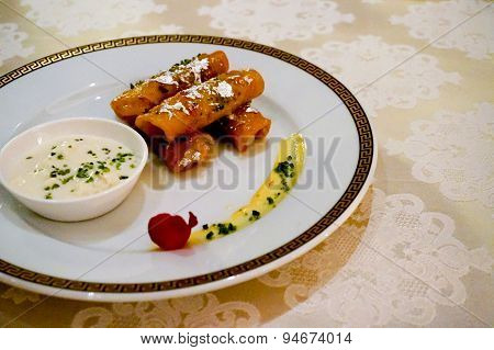 Malpua With Rabdi North Indian Delicacy
