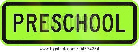 Preschool In Australia