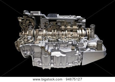 Modern Car Engine