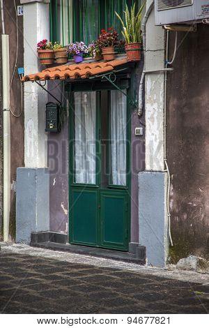 Street In Catania, Italy