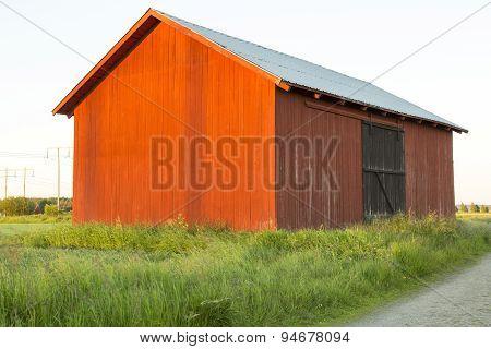 Swedish Red Barn