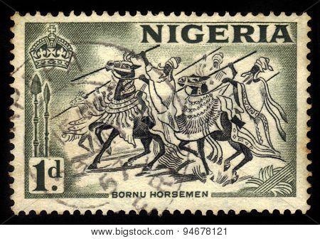 Bornu Horseman, Northeastern Nigeria