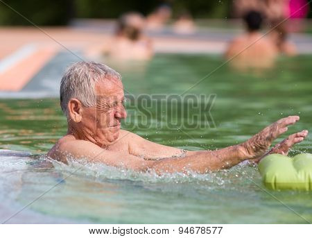 Old Man In The Pool