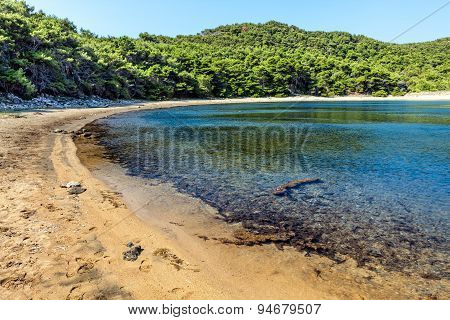 Adriatic landscape - sandy beach