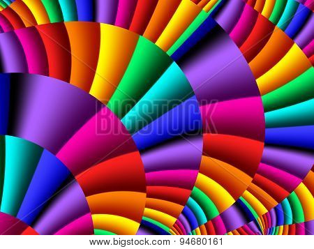 Colorful Abstract Background. Artwork For Creative Design