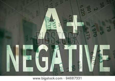 A+ negative
