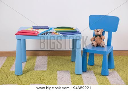 Child's Space For Study