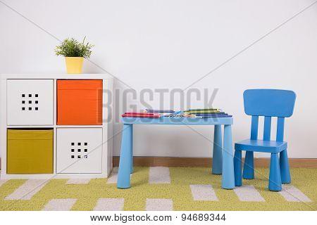 Cozy Children's Study Space