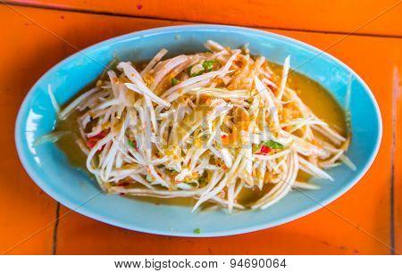 Papaya Salad Thai Style (som Tum)