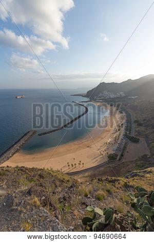 beach and ocean view aerial