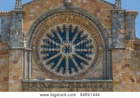 San Pedro Rose Window