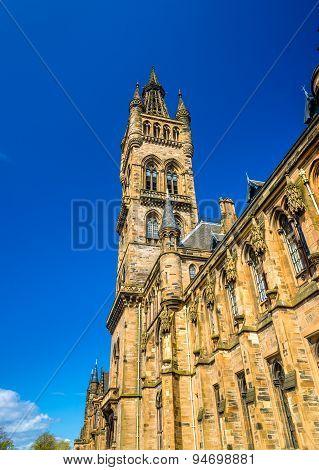 University Of Glasgow Main Building - Scotland