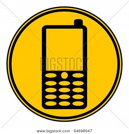 Phone Button.