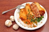 foto of nuong  - Vietnamese Vermicelli with grilled pork or Bun Thit Nuong - JPG
