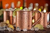 foto of vodka  - Cold Moscow Mules  - JPG