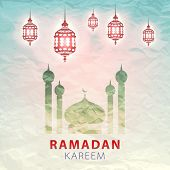picture of kareem  - traditional lantern of Ramadan - JPG