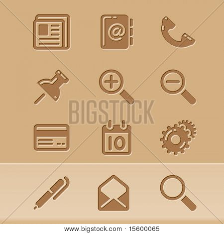 vector blog icons set 1