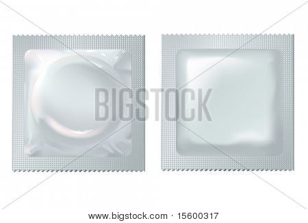 vector illustration of condom