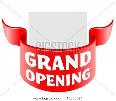 cinta de inauguración