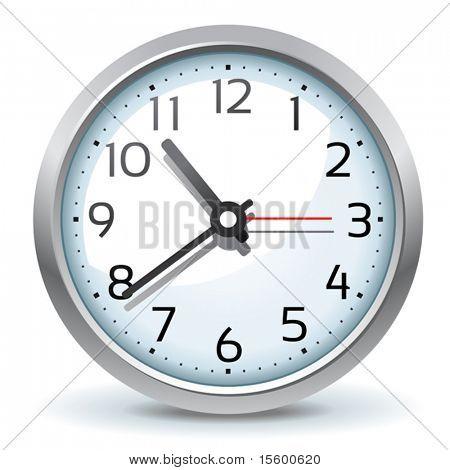 ícone de relógio de parede vector