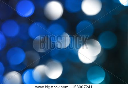 Defocused  Filtered Bokeh Abstract Background.