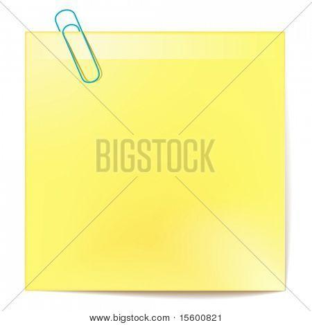etiqueta do vetor amarelo