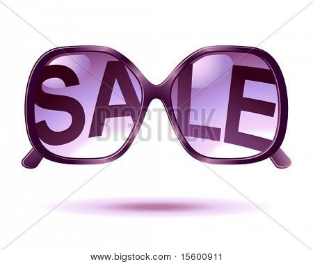 vector sale sunglasses icon