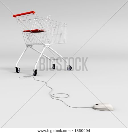 Mouse Controlled Shopping Cart