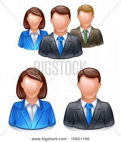 icono de red de grupo de usuario