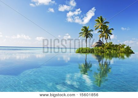 Tropisches Paradies