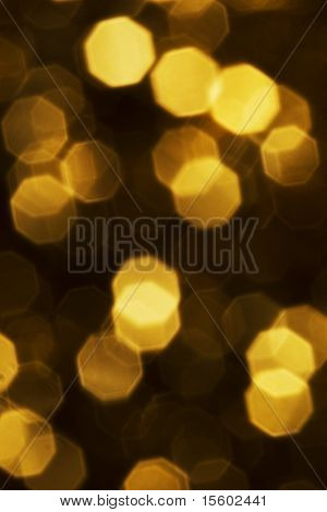 Colden glowing light background