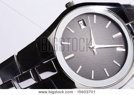Elegant man wristwatch