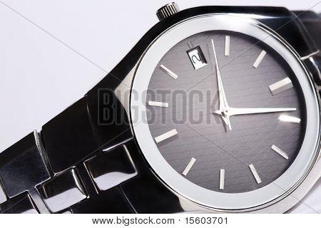 Elegant man wristwatch