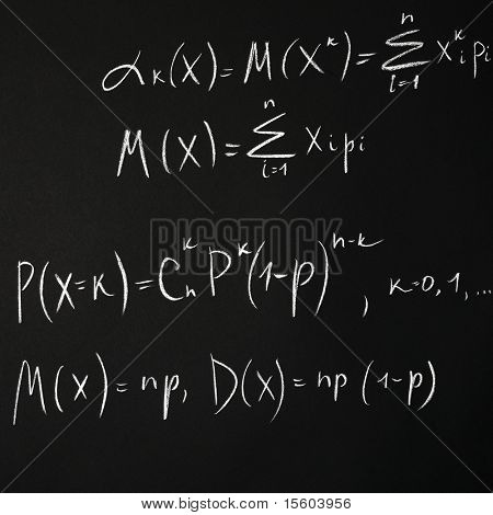 Background of math equation