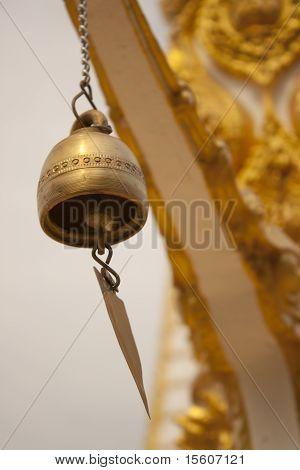 Gold bell.