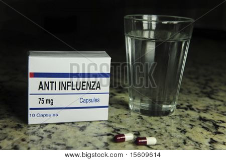 Anti influenza (This pill package is fake, I created it for these photos)