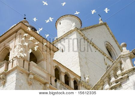 basilica of Saint Francis in Assisi