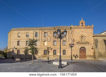 Main Building Of The Huesca University