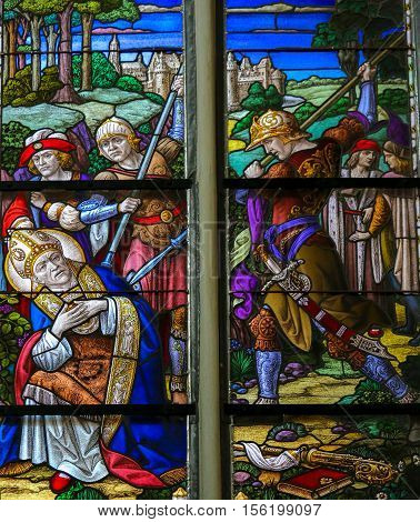 Martyrdom Of Saint Rumbold - Mechelen Cathedral
